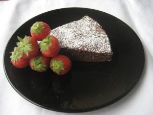 Kladdkaka – bolo de chocolate sueco