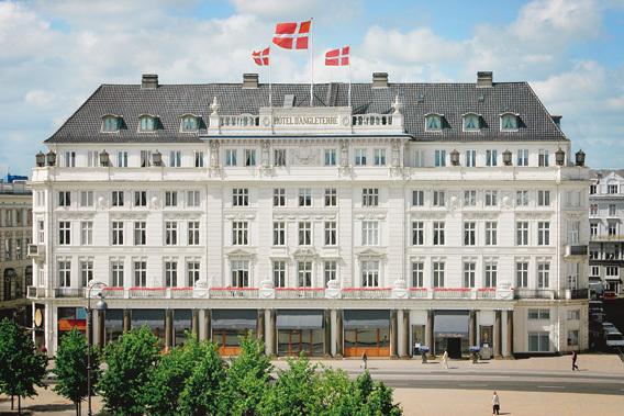Hotel d Angleterre em Copenhaga, pronto para a minha espionagem industrial ;) (foto do site do hotel)