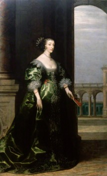 by Unknown artist, background by Hendrik van Steenwyck, oil on canvas, circa 1635